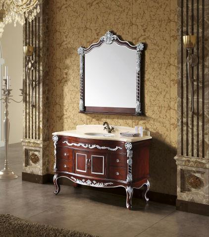 Retro koupelnový nábytek z masivu