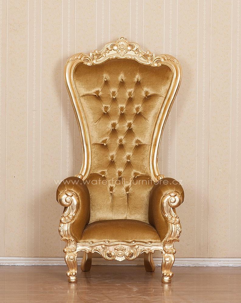Zlaté královské křeslo